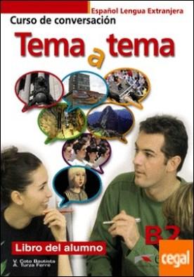 Tema a tema B2 - libro del alumno