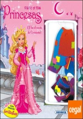 Viste a tus princesas con imanes brillantes. Cenicienta