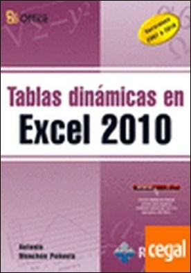 Tablas dinámicas en Excel 2010 . Versiones 2007 a 2010