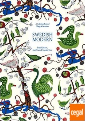 Swedish modern - A colouring book of magical interiors
