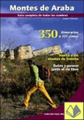 Montes de Araba . 350 itinerarios a 127 cimas