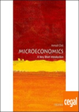 Microeconomics . A very short introduction