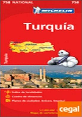Mapa National Turquía . Edicion 2012