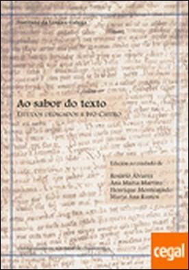 OP/345-Ao sabor do texto . Estudos dedicados a Ivo Castro