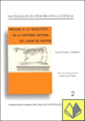 Prólogo a la historia natural del Conde de Buffon