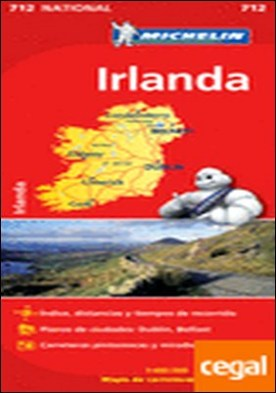 Mapa National Irlanda . Edicion 2012