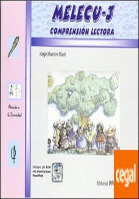 MELECU 3 COMPRENSION LECTORA . Educación Primaria 3º Ciclo 1º E.S.O.