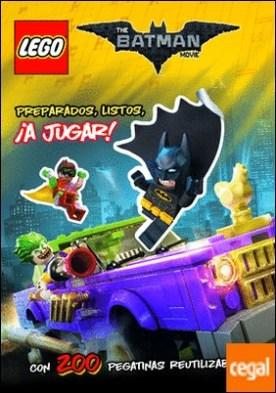 Lego Batman. Libro de pegatinas . Preparados, listos, ¡ A jugar!