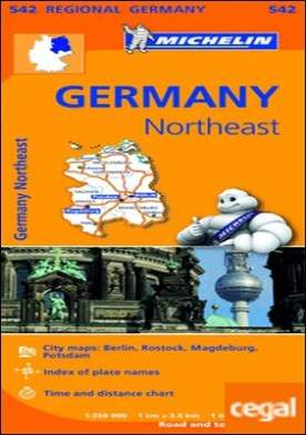 Mapa Regional Germany Northeast