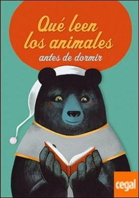 QUE LEEN LOS ANIMALES ANTES DE IR A DORMIR