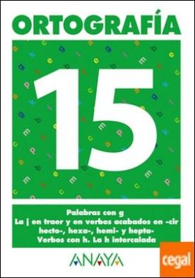 Ortografía 15.