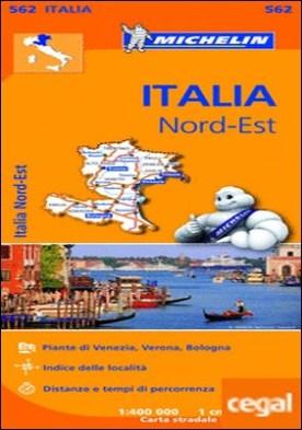 Mapa Regional Italia Nord Est