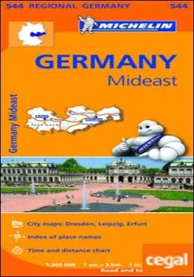Mapa Regional Germany Mideast