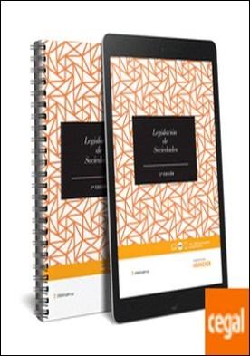 Legislación de sociedades (LeyItBe) (Papel + e-book) por Editorial Aranzadi, Redacción