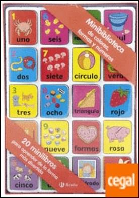 Minibiblioteca de colores, formas y números