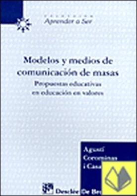 Modelos y meDios de comunicación de masas