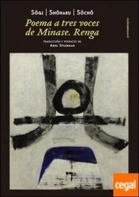 Poema a tres voces de Minase . Renga