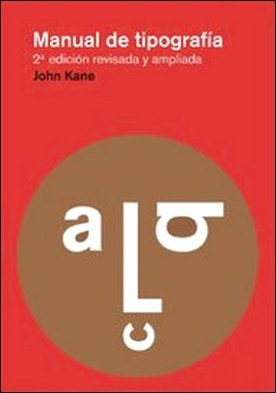 Manual de tipografía. Nueva edición