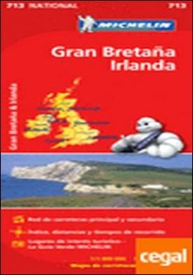 Mapa National Gran Bretaña Irlanda . Escala 1:1.000.000