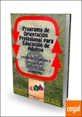 POPEA (cuaderno alumno/a) . Programa de Orientación para Educación de Adultos