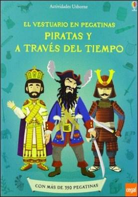 PIRATAS Y A TRAVES TIEMPO VEST PEGATINAS . El vestuario en pegatinas