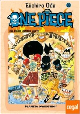 One Piece nº 33 . ¡¡La lucha contra Davy!!