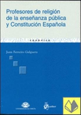 Profesores de religión de la enseñanza pública y constitución española