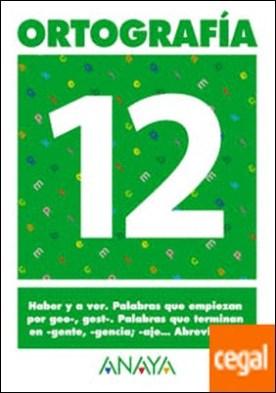 Ortografía 12.