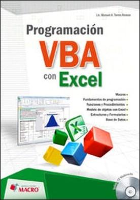 Programación VBA con Excel