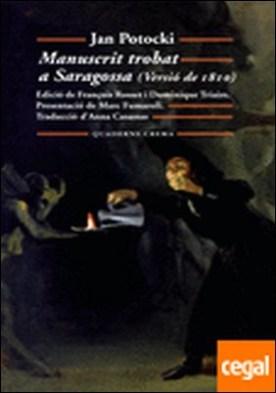 Manuscrit trobat a Saragossa
