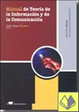 Manual de teor¡a de la informaci¢n y de la comunicaci¢n