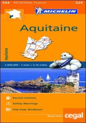 Mapa Regional Aquitaine