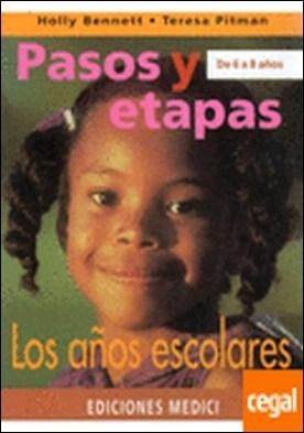 PASOS Y ETAPAS DE 6 A 8 AÑOS