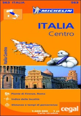 Mapa Regional Italia Centro