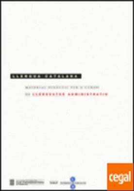 Material didàctic per a cursos de llenguatge administratiu