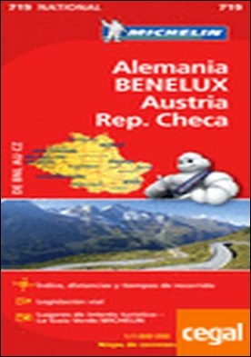 Mapa National Alemania BENELUX Austria Rep. Checa . Edicion 2012