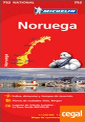 Mapa National Noruega . Edicion 2012