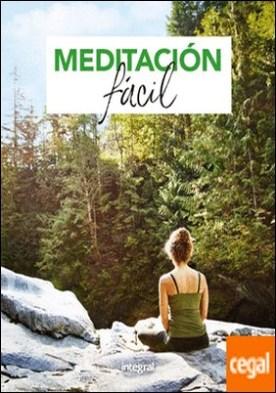 Meditación fácil por REDACCION RBA LIBROS