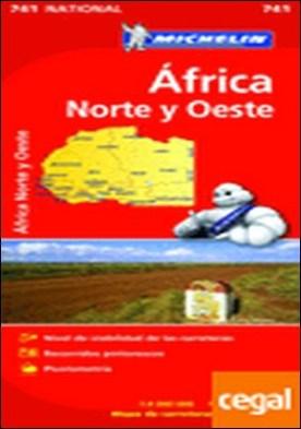 Mapa National Africa Norte y Oeste . Edicion 2012