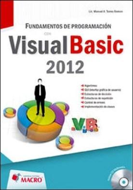 PROGRAMACION ORIENTADA A OBJETOS CON VISUAL BASIC 2012