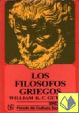 Los filósofos griegos . DE TALES A ARISTOTELES