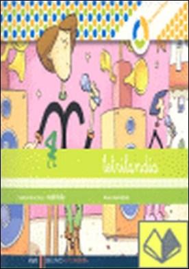 Letrilandia. Lectoescritura cuaderno 4 de escritura (Cuadricula)