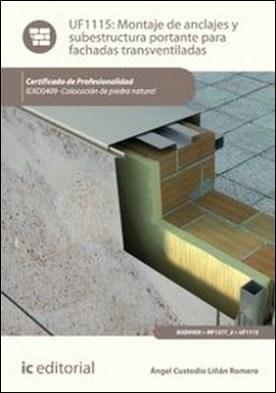 Montaje de anclajes y subestructura portante para fachadas transventiladas