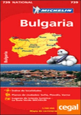 Mapa National Bulgaria . Edicion 2012