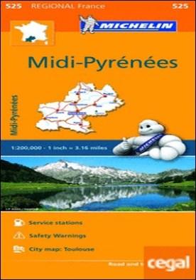 Mapa Regional Midi-Pyrénées