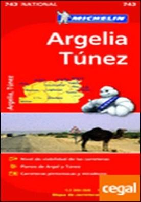 Mapa National Argelia Túnez . Edicion 2012