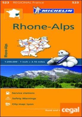 Mapa Regional Rhône-Alps