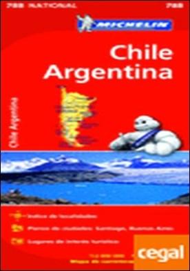 Mapa National Chile - Argentina . MAPA NATIONAL CHILE - ARGENTINA 788