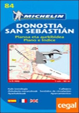 Plano Donostia-San Sebastián . Edicion 2007