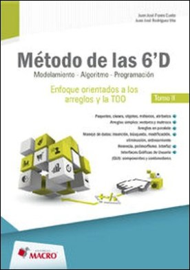METODO DE LAS 6' D - modelacion , algoritmo,programacion- tomo II